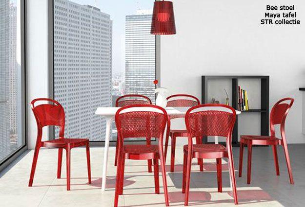 Design Kunststof Stoelen.Str Collectie Kunststof Stoelen