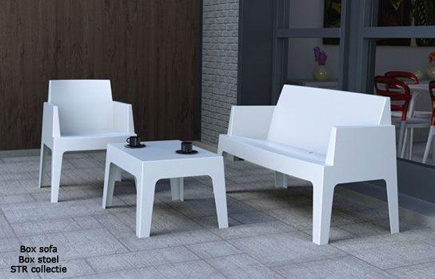 Str collectie kunststof stoelen